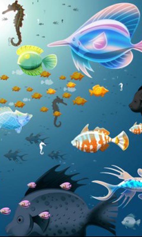 q版海底世界高清壁紙_360手機助手
