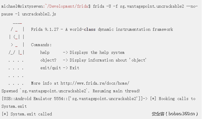 技术分享】利用FRIDA攻击Android应用程序(三) - 安全客,安全