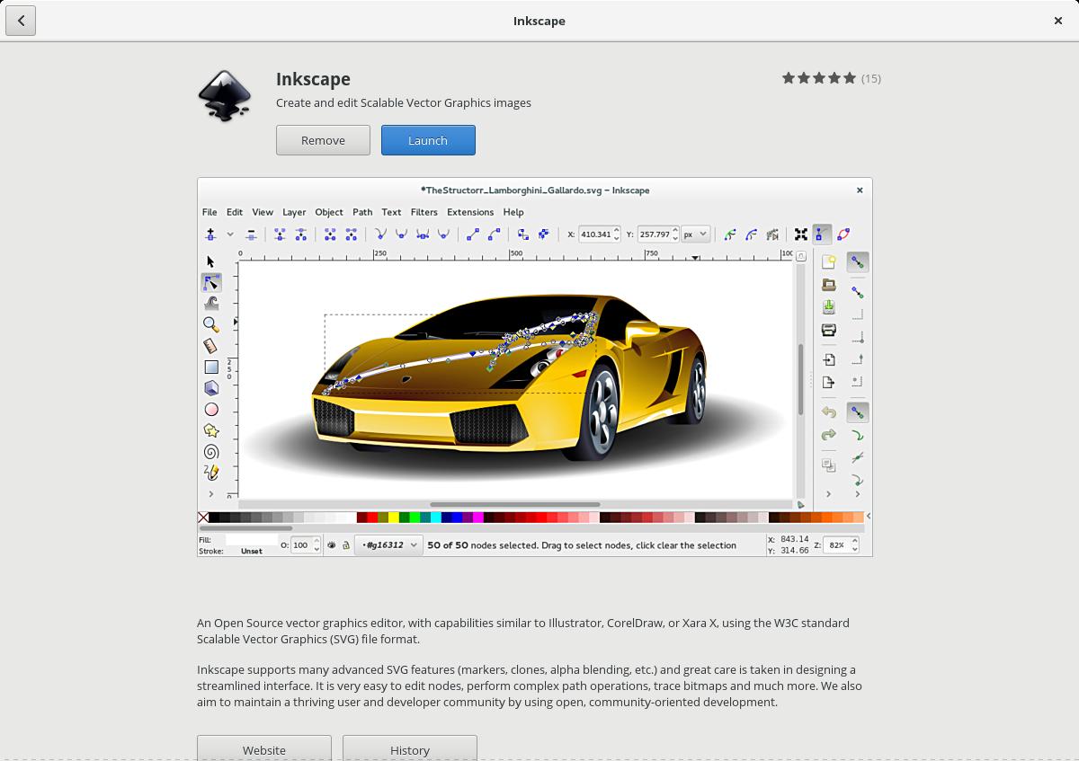 inkscape-gnome-software