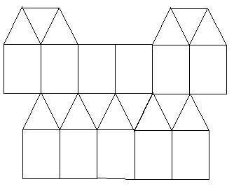 用正三角形和正方形地磚,請你設計