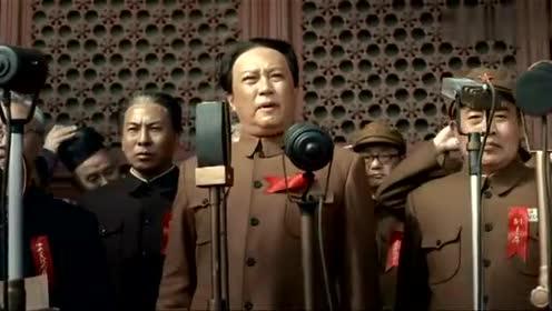 1949年10月1日毛主席向全世界宣告 中華人民共和國成立了