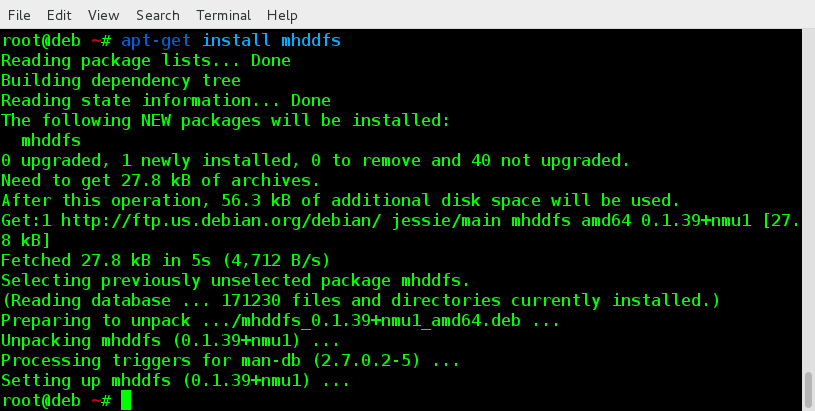 Install Mhddfs on Debian based Systems